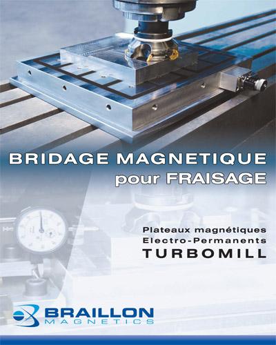 Bridage magnétique pour Fraisage