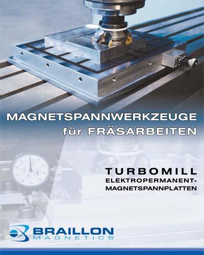 Magnetspannwerkzeuge für Fräsarbeiten
