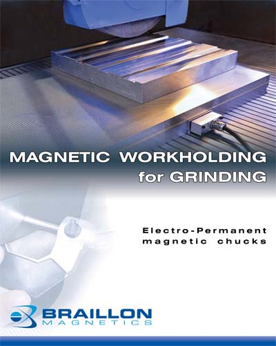 Magnetic Workholding for Grinding