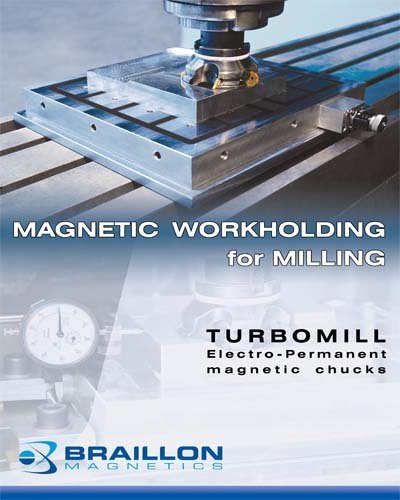 Magnetic Workholding for Miling