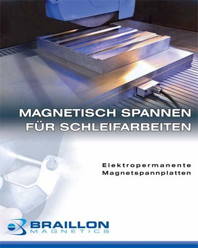 Magnetisch spannen für Schleifarbeiten
