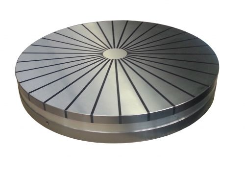 Circular magnetic chucks