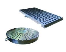Plateaux et mandrins électromagnétiques et électropermanents