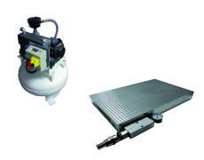 Vakuum Spannplatte und Vakuumpumpe
