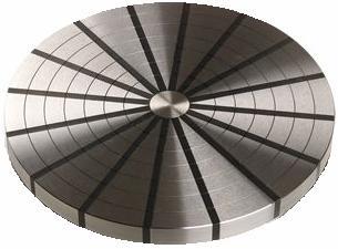 plaque polaire radial