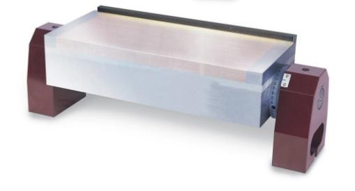 plateau magnétique orientable